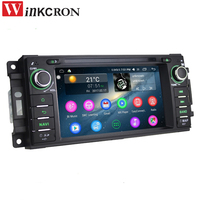 6 2 Car Radio Stereo Audio 2GB 32GB Android 6 0 1 GPS Navigation For JEEP