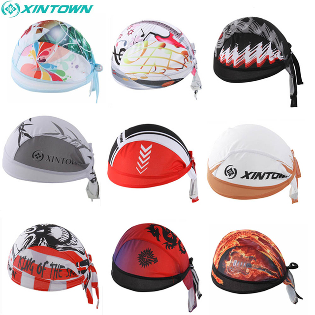 7877ccc7613 Sweat Wicking Head Cover   Cycling Cap  Beanie  Adjustable Head Wrap  Chemo  Hat For Running