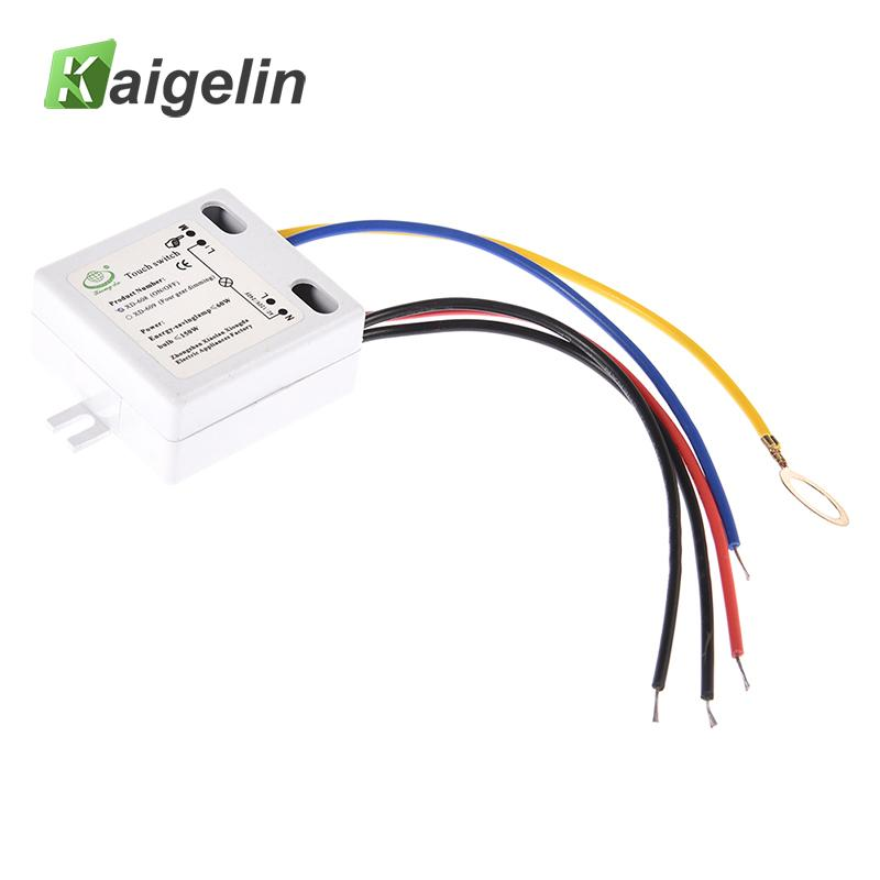 LED Touch Switch For LED Lamps DIY Accessories XD-608 Switch On Off XD-609 Touch Dimme Switch Black /Blue/Red/Yellow Line 220V радиосистемы line 6 xd v75