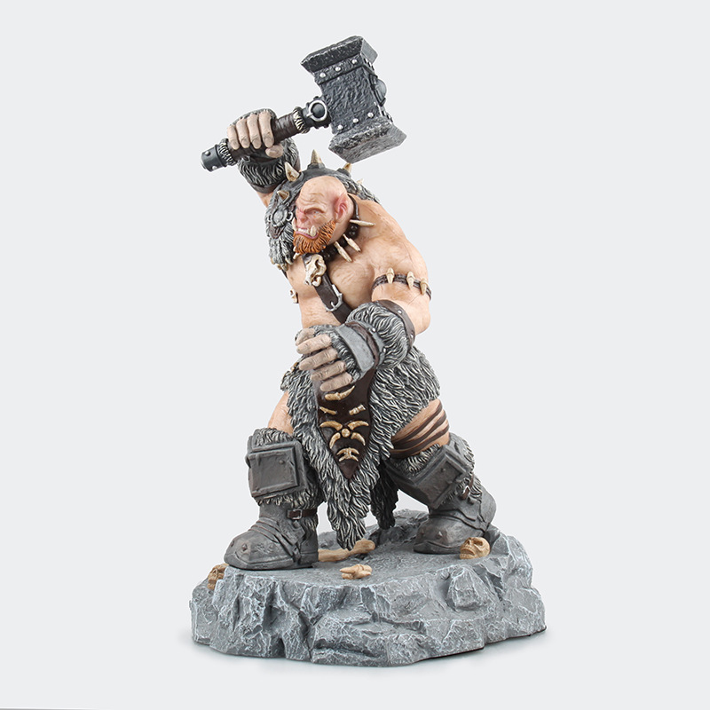 Tribe Ogrim Doomhammer Cartoon Figure WOW Game Movie Model Figures Statue Collectible Model Kids Toys 1