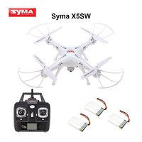 Syma X5SW / X5SW 1 4 Channel Remote Controlled Quadcopter with HD Camera for Real Time Video Transmission, 31 x 31 x 10.5cm