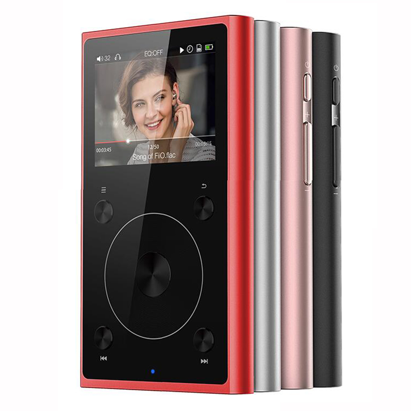 Fiio X1 II X1 2nd gen (+ Leather case) Dual mode Bluetooth 4.0 Portable High Resolution Lossless Music Player X1ii fiio clear back cover for x3 2nd gen c03