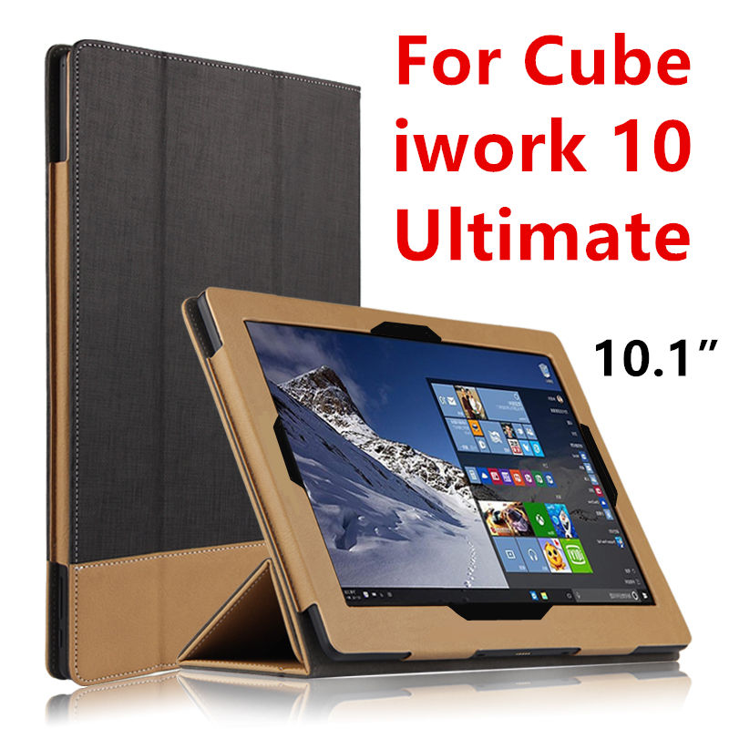 Case PU Sleeve For Cube iwork 10 Ultimate Protective Smart cover Protector Leather Tablet PC For iwork10 Ultimate Cases Covers ultra thin smart flip pu leather cover for lenovo tab 2 a10 30 70f x30f x30m 10 1 tablet case screen protector stylus pen