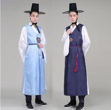 2018 summer korean hanbok man traditional clothing national costumes male costume wedding