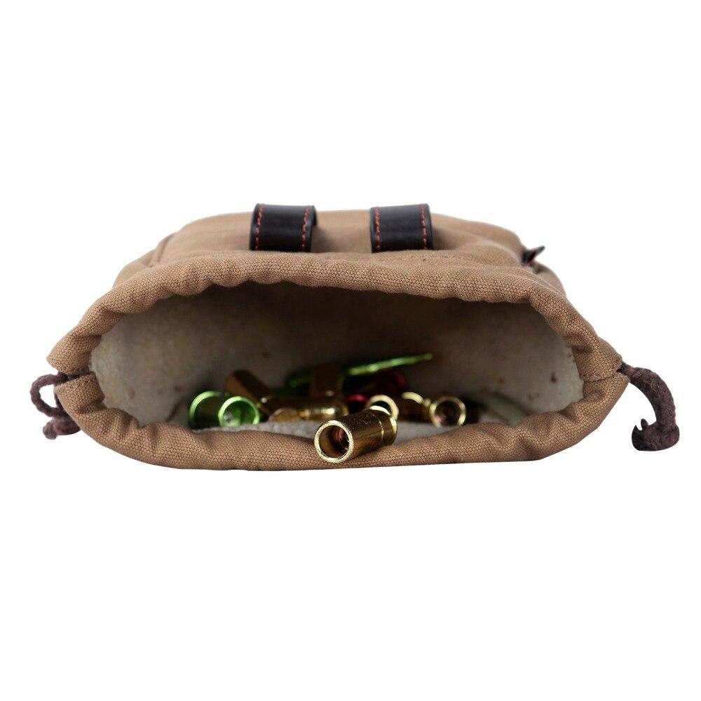 Tourboni jahikollektsiooni kottide lõuend lõuend ja nahkkattega - Jahindus - Foto 6