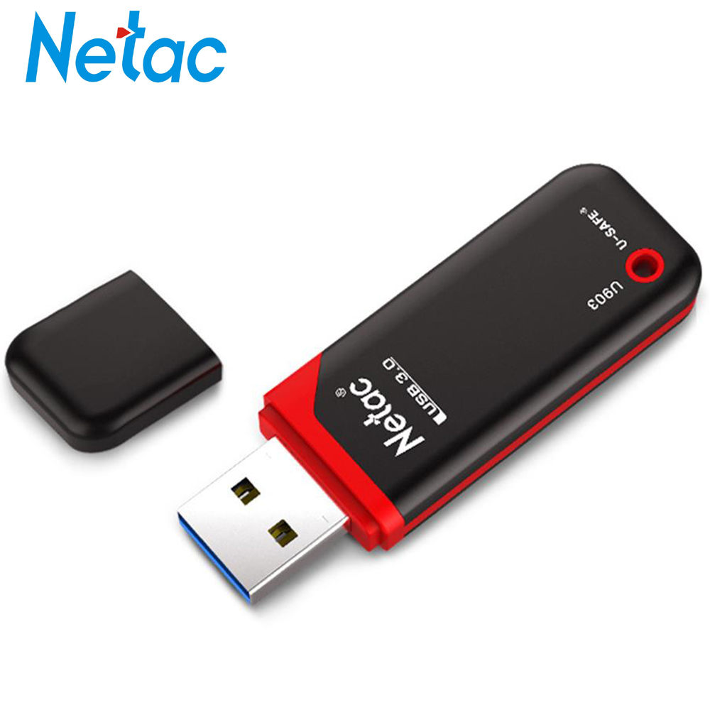 Netac U903 USB Flash Drive Pendrive 16GB/32GB/64GB USB3.0 Memory Stick High Speed Flash Drive Memory Plastic Storage Device Disk