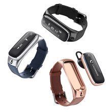M6 Bluetooth Smart Браслет вызовов мини-гарнитуры сообщение Re Mi nder Sleep Monitor Sports Tracker wristphone PK fitbit Mi band 2
