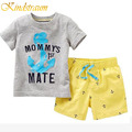 Kindstraum 2017 New Cothing Sets Kids Boys 2pcs Beach Boy T shirt + Kids Shorts Pants Casual Clothing Suits for Children, MC401