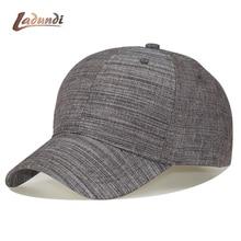 100% Pria Kepala Besar Bisbol Topi Hitam Abu-abu Warna Dewasa Memuncak Cap ac272e4fbd