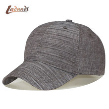 13d6100bfc231 100 % Men Big Head Baseball Cap Black/Gray Color Adult Peaked Cap With  Large Size Dad Hat Circumference 56-63cm Wool Hip Hop Hat