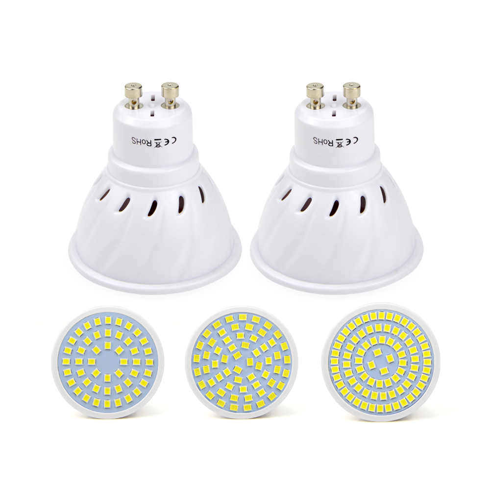 10pcs free shipping 5w 7w 9w led lamp gu10 bombillas led - Bombilla led gu10 ...