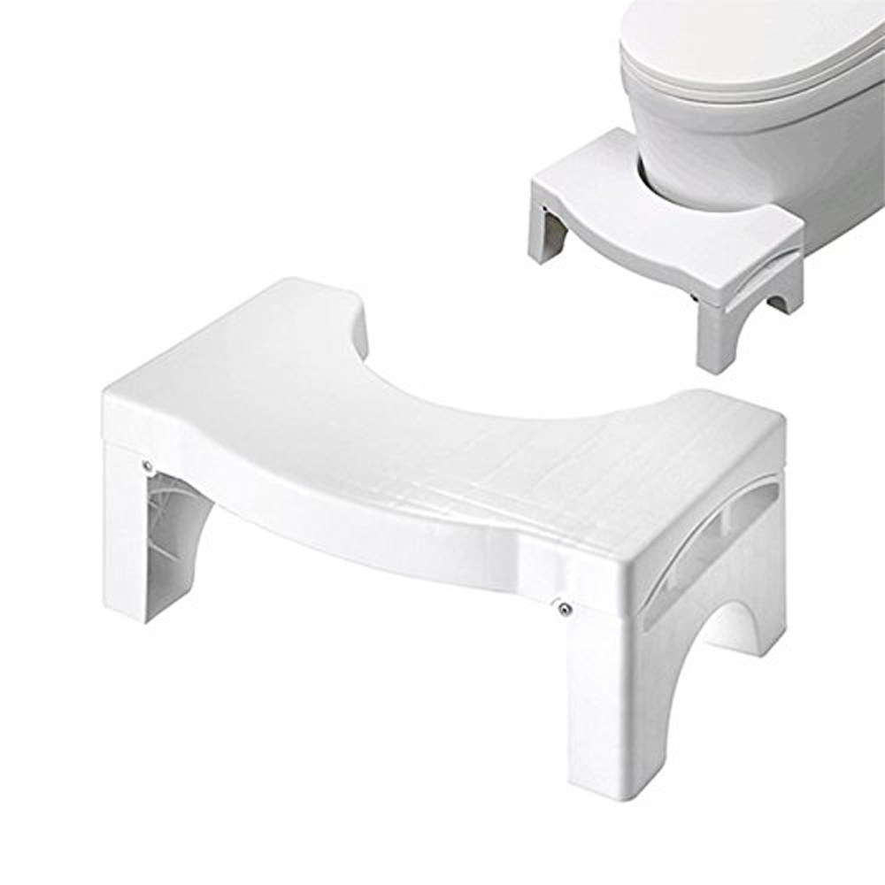 New Squatty Bathroom Folding Portable Stool Toilet Stool Step Footstool Piles Relief Aid Safety Folding Stool D30 Feb5