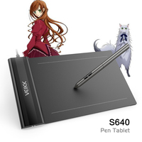 VEIKK S640 Graphic Drawing Tablets 6X4 Inch Tablet Digital Computer Peripherals Pen 8192 Levels ON SALE