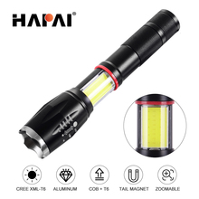 XML-T6 Hard Light COB LED Flashlight Zoomable Rechargeable 18650 Battery Powerful Outdoor Tactical Flashlights & Torches sitemap 139 xml