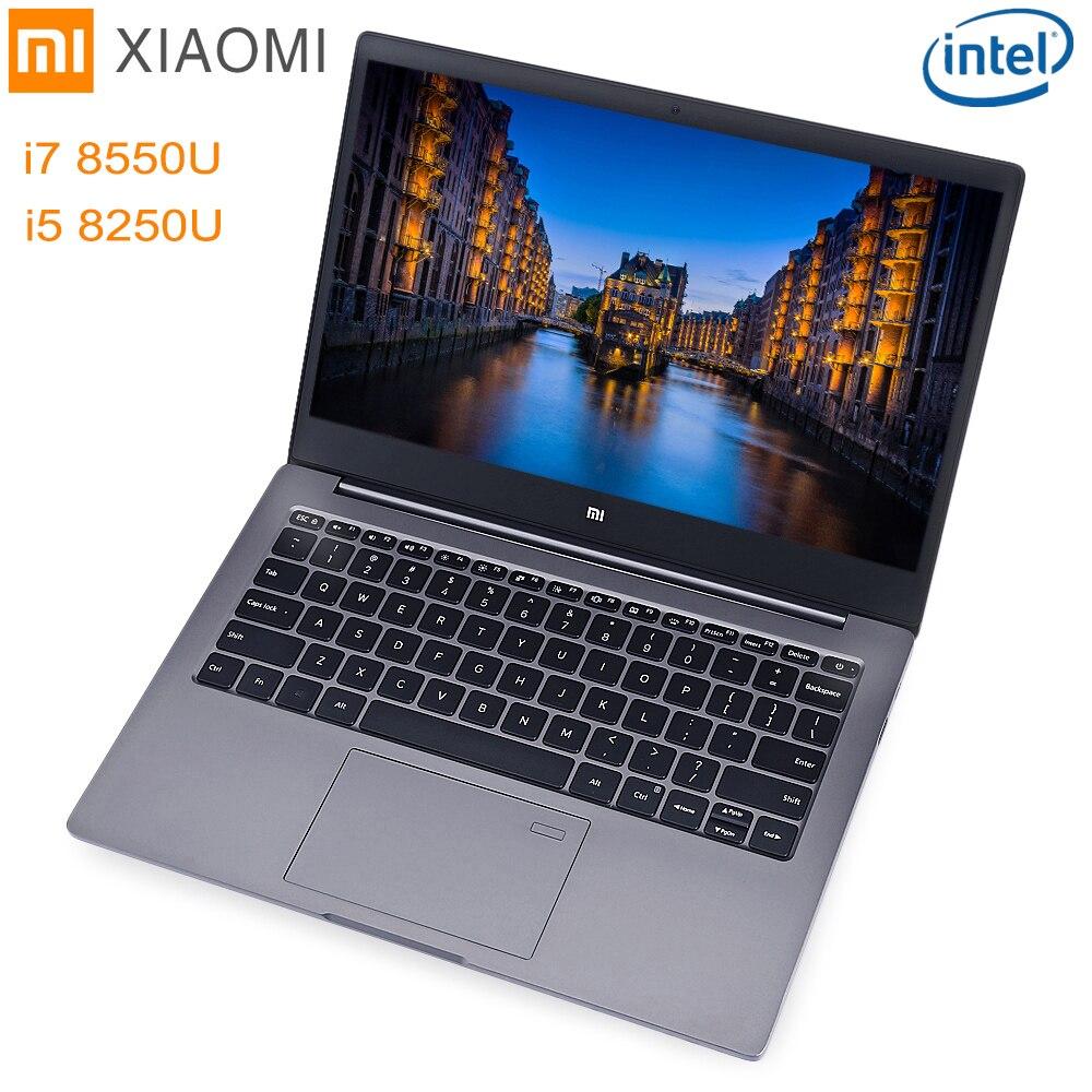 Xiao mi mi notebook air 13.3 Finestre 10 intel core I5/I7 quad CORE 8 Gb + 256 gb SSD di Impronte Digitali Dual WiFi Ultrabook Ga mi ng Del Computer Portatile