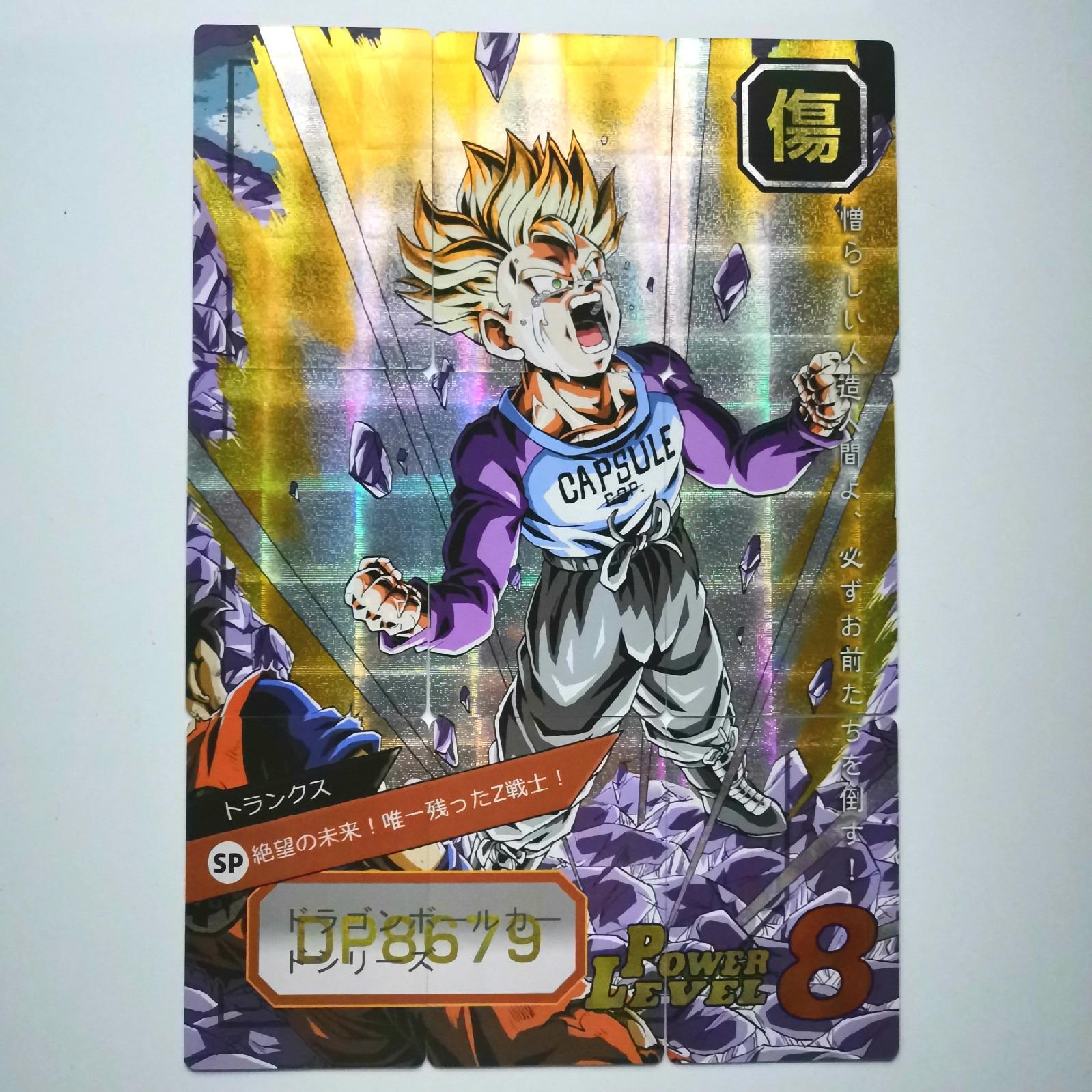 54pcs 9 In 1 Super Dragon Ball Z Heroes Battle Card Ultra Instinct Goku Vegeta Super Game Collection Cards