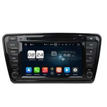 Octa Core 8 Android 6 0 Car DVD GPS for Skoda Octavia 2014 2016 With 2GB