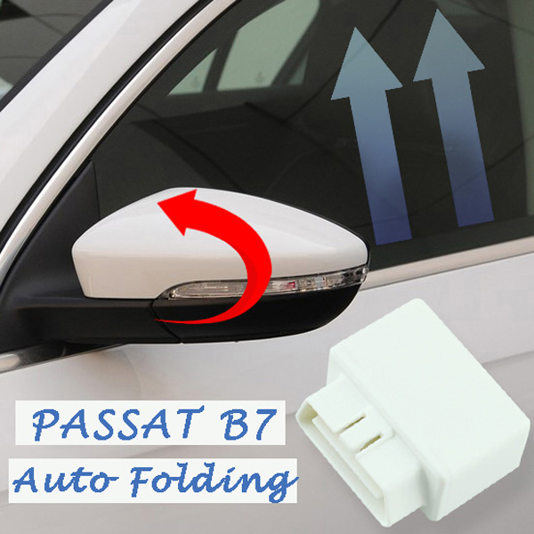 1 piece OBD car window closer glass opening/closing module closer only fit for VW Passat B7 2012-2015 obd intelligent aluminum alloy car window closer for cruze buick excelle golden 12v