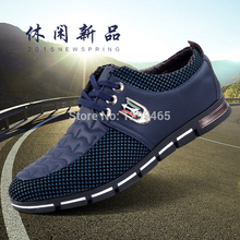 Nice New Fashion Men Breathable Men Fashion Flats In Spring/Autumn For Male Lace-up Shoes Tenis Masculino Shoes