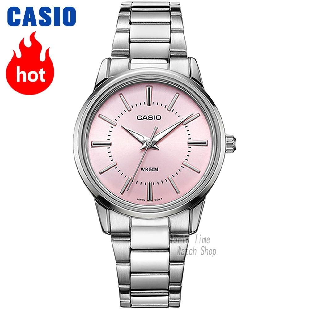 4d972ad1cb8 Casio horloge Analoge dames quartz horloge, moderne opvallende waterdicht horloge  LTP 1303 in Casio horloge Analoge dames quartz horloge, moderne opvallende  ...