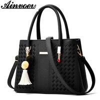 Ainvoev 2018 New Europe Fashion Trend Bag Female Handbag Fashion Shoulder Bag Lipstick Crossbody Bag High