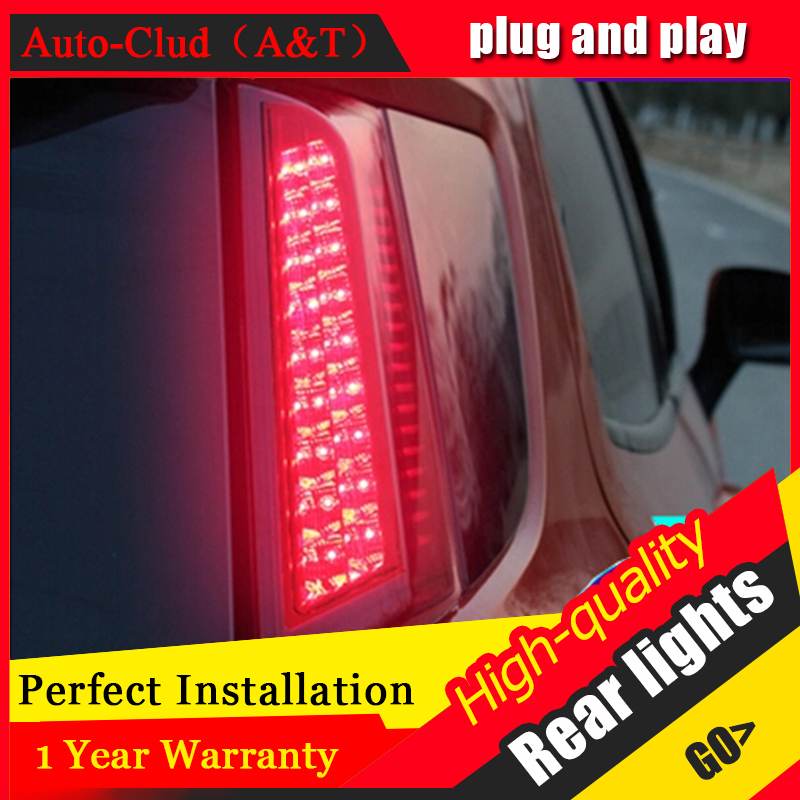AUTO.PRO For Ford EcoSport LED taillights 2013-2015 LED rear lights accessories For EcoSport parking For Ford EcoSport fog light car rear trunk security shield cargo cover for ford ecosport 2013 2014 2015 2016 2017 high qualit black beige auto accessories