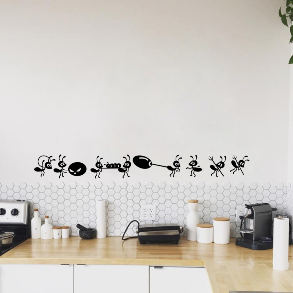 DIY Art Decors Removable Circles Triangles Stars Mural Stickers Vinyl Wall Decals for Room Decoration