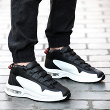 2019 spring new wild air cushion sports and leisure tide shoes running net red Korean version of the trend of men's shoes waters and the wild air exp