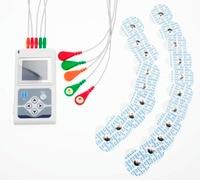 CONTEC Марка три Каналы ЭКГ холтеровское пациента Monito ЭКГ/ЭКГ холтеровское мониторинга Системы TLC9803, 5 приводит ЭКГ Холтер ЭКГ монитор