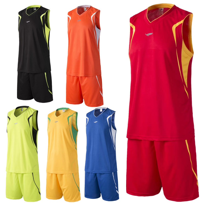 69030cc3a 2016 new arrival men s breathable basketball training Jersey sets blank  sport running t shirt uniforms tracksuit throwback print-in Basketball  Jerseys from ...