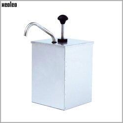 XEOLEOChurros napełniarka Jam squeeze pump elektryczna pompa do sosu 310W handlowa wielofunkcyjna pompa ze stali nierdzewnej