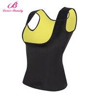 Lover Beauty Reversible Slimming Neoprene Vest Trainer Hot Ultra Sweat Belt Body Shapers For Weight Loss