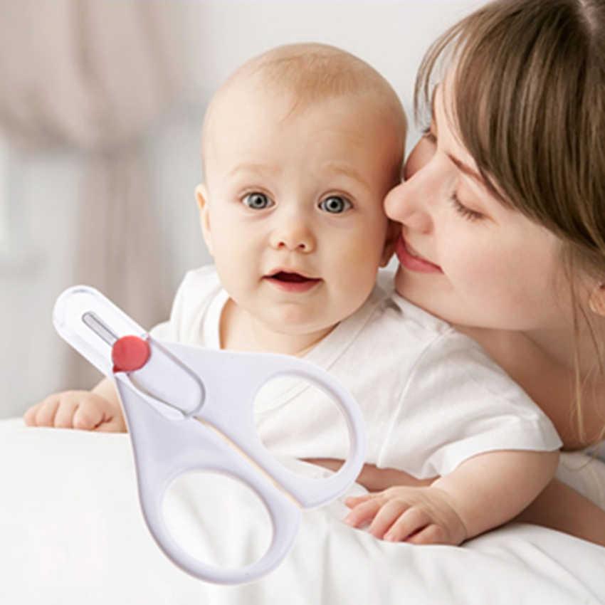QCHENKIWEI 2018 nouveau Arrive vente chaude! Marque spéciale nouveau-né bébé soin sûr ciseaux à ongles tondeuse tondeuse manucure lame ensemble