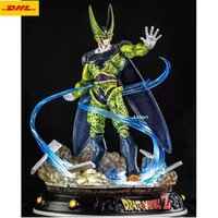 24 Dragon Ball Statue Cell Bust Revolutionary Army Full Length Portrait GK Action Figure Collectible Model Toy BOX Z358