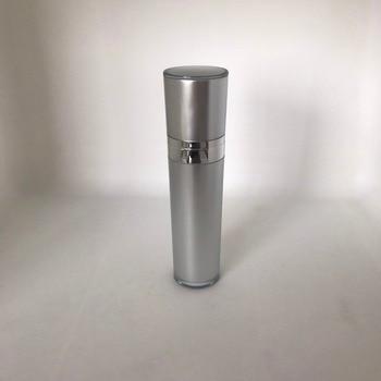 50ML silver acrylic cone-shape pump lotion bottle, press lotion pump bottle ,50ml plastic Cosmetic bottle Packaging