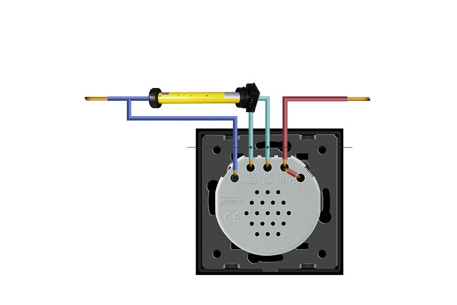 Livolo EU Standard Touch Smart Remote Vorhänge Schalter, AC 220 ...