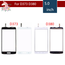 10pcs/lot High Quality 5 For LG Series III L80 D373 and L80 Dual SIM D380 Touch Screen Digitizer Sensor Outer Glass Lens Panel цена