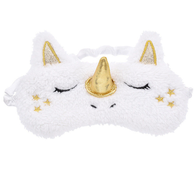 Plush Unicorn Sleep Mask