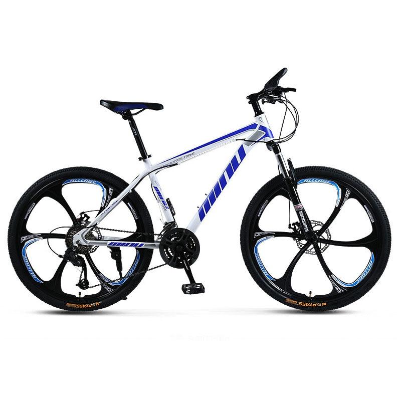 VTT 24/26 pouces choc freins à disque VTT hommes et femmes vélo