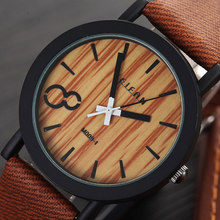 Wooden Quartz Men Watches (6 Types)