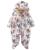 Outono Inverno Macacão de Bebê estilo Coelho bebê velo coral Hoodies marca meninos meninas Macacão de bebê romper do bebê recém-nascido macacão