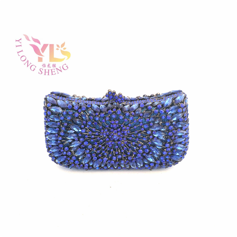 ФОТО YILONGSHENG Women 2017 Most Fashion Rhinestone Clutch Purse with Chain