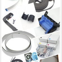 Запасной плоттер части каретки ремень плоский шлейф печатающая головка синий рычаг чехол для коляски для hp DesignJet 500 500PS 800 800PS