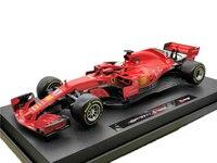 BBurago 1:18 F1 2018 SF71H Formula One Diecast Model Car Racing