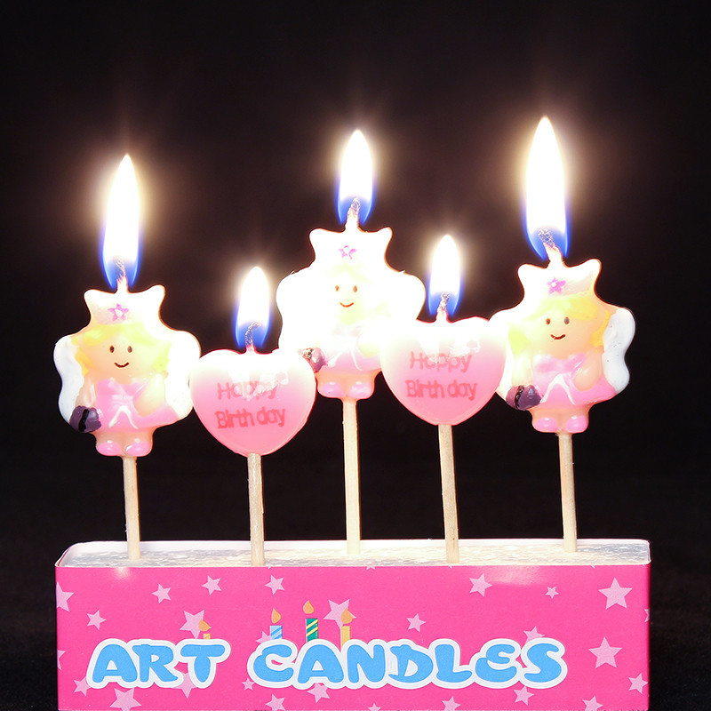 Mermaid Birthday Candles Candle Gift Ideas For Children Cartoon Supplies Necessary On Aliexpress