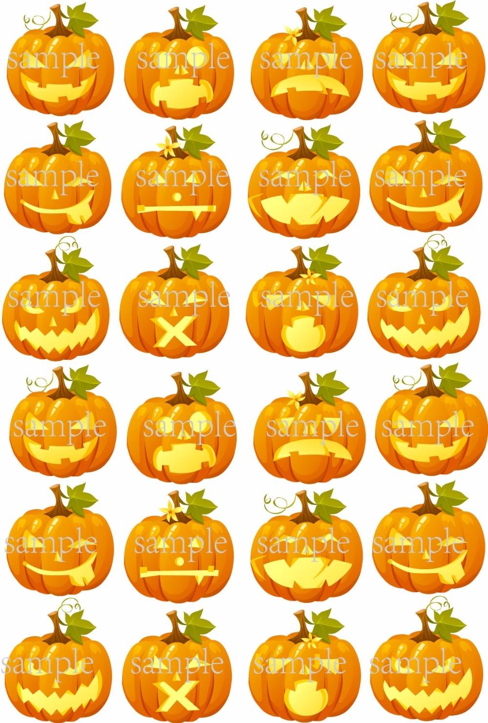 Halloween Cupcakes Toppers: Decorazioni Di Halloween Cupcakes-Acquista A Poco Prezzo