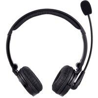 Fones de ouvido sem fio para pc  fone de ouvido bluetooth com cancelamento de ruído e microfone para escritório  telefone  chamada  serviço do cliente