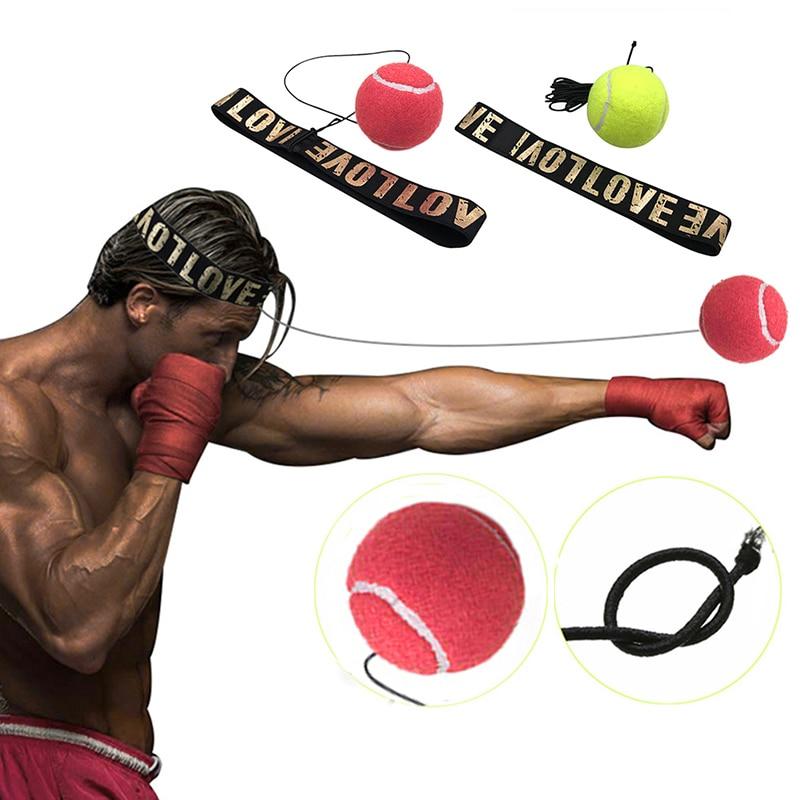 Boxing Equipment Fight Ball Boxeo Training Accessories Lomachenko Speed Ball Muay Thai Trainer Quick Response Ball Punching
