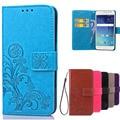 Phone case para coque samsung galaxy grand prime g530 g530h G531 G531H G531F SM-G531F Carteira Tampa Flip com Slots de Cartão titular
