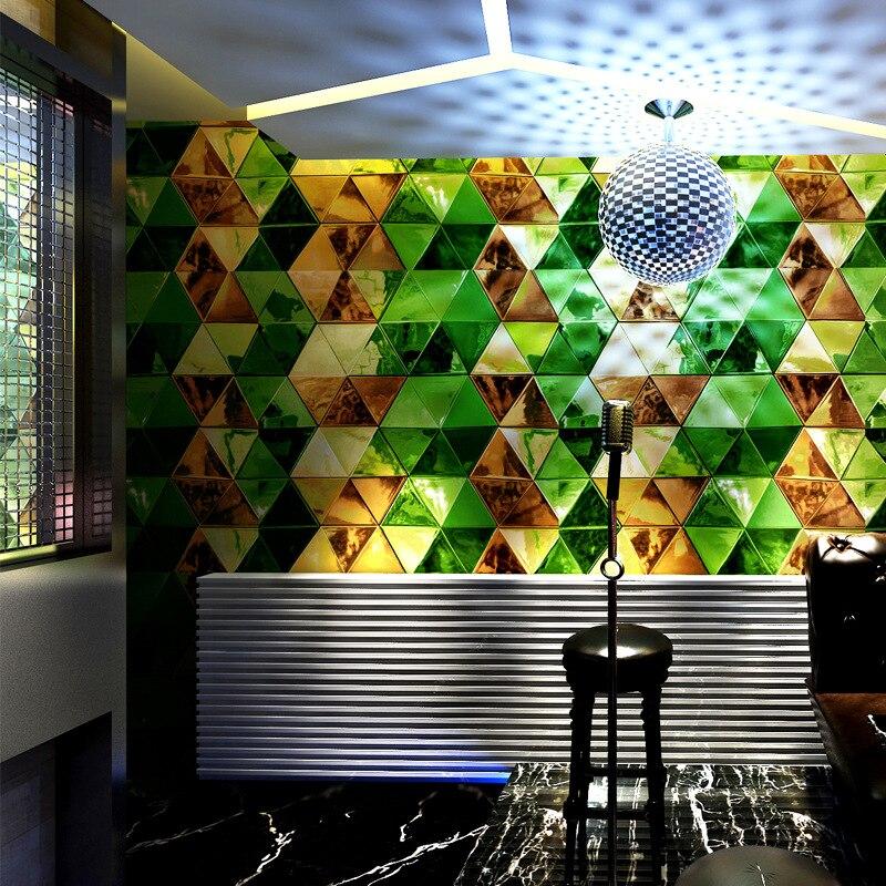 3D stéréo luxe faux cuir papier peint personnalité mode revêtement mural bar hôtel fantaisie salle de bal boîte vestiaire papel de parede